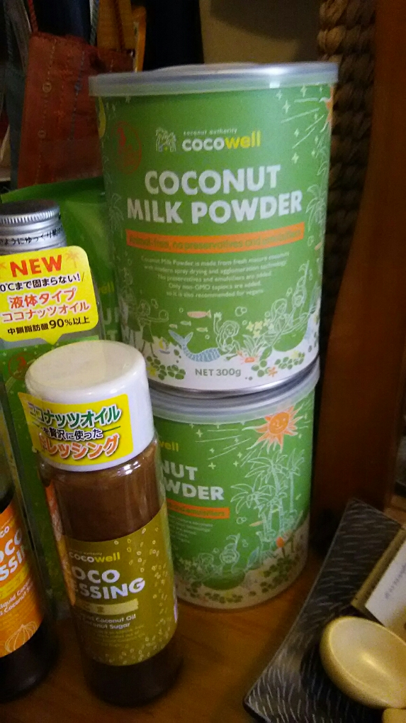 新発売のココナッツミルク入荷